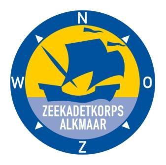 Logo Zeekadetkorps Alkmaar